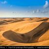 Europe - Spain - España - Canary Islands - Islas Canarias - the Canaries - Canarias - Gran Canaria island - Maspalomas - Rolling sand dunes