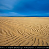 Europe - Spain - España - Canary Islands - Islas Canarias - the Canaries - Canarias - Fuerteventura -  Parque Natural de las Dunas de Corralejo - Natural Park of the Sand Dunes of Corralejo - White Sand Dunes at Atlantic Ocean
