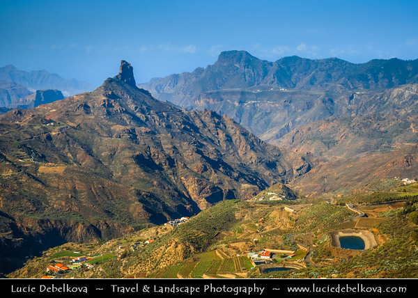 Europe - Spain - España - Canary Islands - Islas Canarias - the Canaries - Canarias - Gran Canaria island - Volcanic mountainous interior
