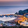 Europe - Spain - España - Canary Islands - Islas Canarias - the Canaries - Canarias - Gran Canaria island - Puerto Rico - Coastal town on shores of Atlantic Ocean