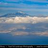 Europe - Spain - España - Canary Islands - Islas Canarias - the Canaries - Canarias - Tenerife Island - Mount Teide Volcano 3,718-metre highest point in Spain and the highest point above sea level in the islands of the Atlantic