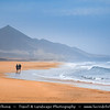 Europe - Spain - España - Canary Islands - Islas Canarias - the Canaries - Canarias - Fuerteventura - Atlantic Coast - Cofete Beach