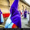 Europe - Spain - España - Andalucía - Andalusia - Córdoba Province - Córdoba - Cordova - Historic centre - UNESCO World Heritage Site - Santa Semana - Holy Week - Processions of the brotherhoods or fraternities - Vibrant celebrations, with religious origins, during days leading up to Easter Sunday