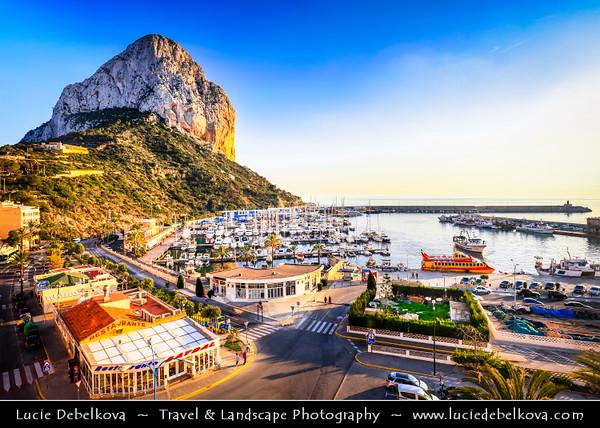 Europe - Spain - España - Alicante Province - Calp - Calpe - Co