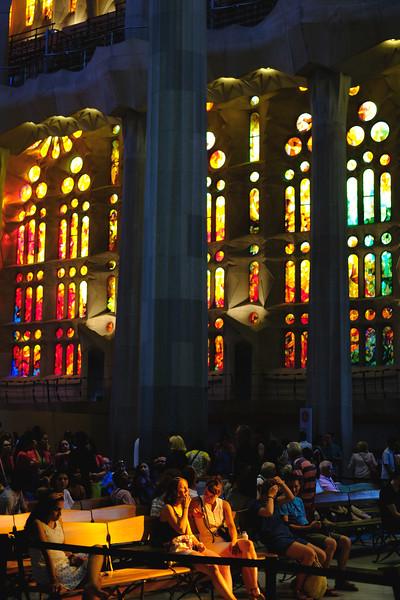 La Sagrada Família. June 2019