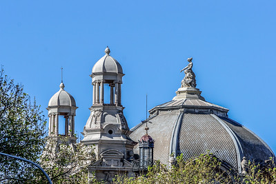 Roof Top Spires and Domes