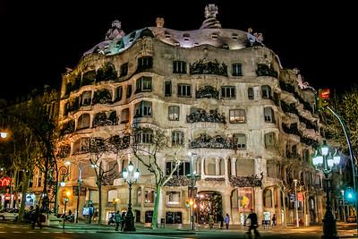 La Pedrera by Gaudi