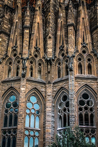 La Sagrada Familia by Gaudi