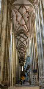 Cathedral Towering Interior