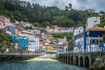 The Fishing Port of Cudillero
