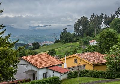 Panorama of Oviedo from Naranco