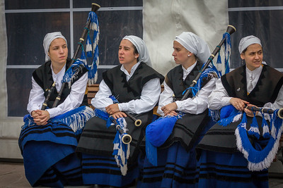 Bagpipe Players, Feast of the Ascension
