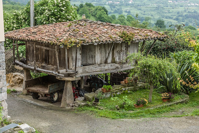 Asturian Grain Storage