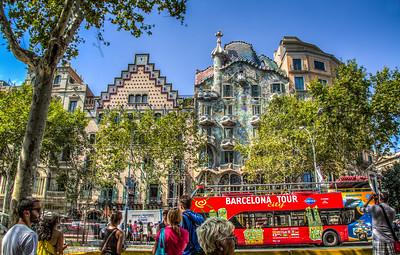 Gaudi, Barcelona, Catalunya, Spain, 2012