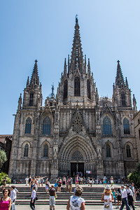 Cathedral, Barcelona, Catalunya, Spain, 2012