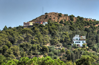 School on the Hill, Parc Guell, Barcelona, Catalunya, Spain, 2012