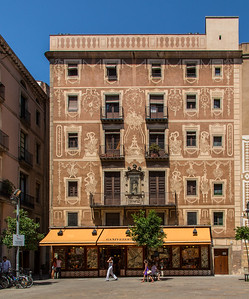 Modernist Buildings, Barcelona, Catalunya, Spain, 2012