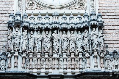 Facade Close-up, Montserrat, Catalunya, Spain, 2012