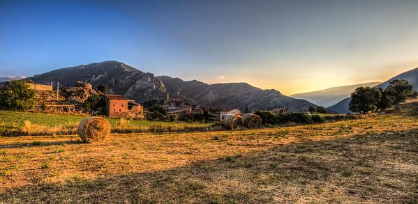 Sunrise, Peramea, Catalunya, Spain, 2012