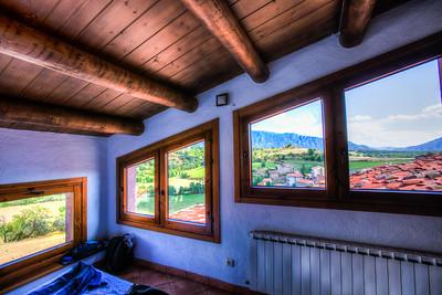 Window View, Peramea, Catalunya, Spain, 2012