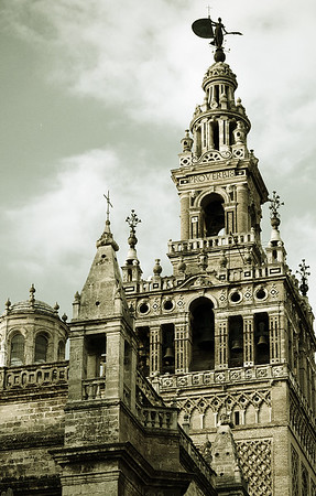 Cathedral of Seville with Buttresses #12s - Seville, Spain