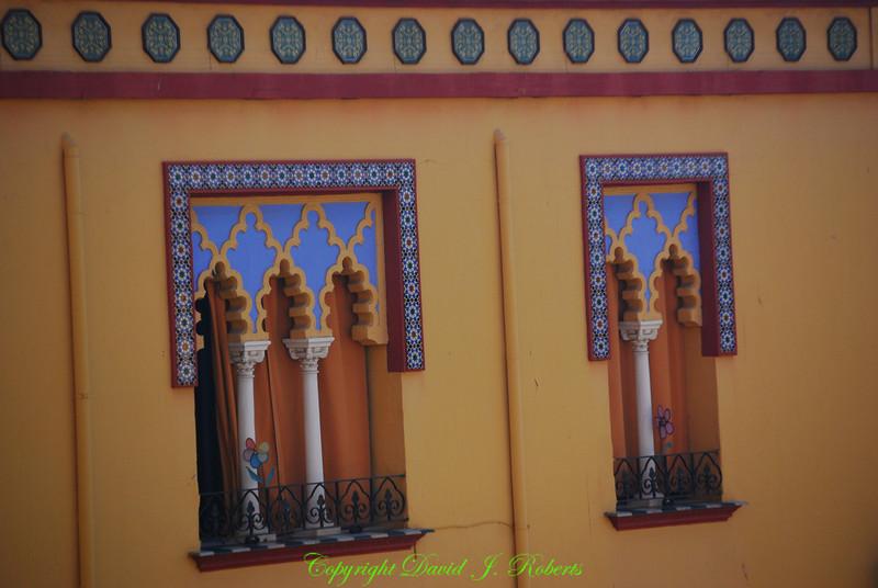 Building with Moorish designs, Cordoba, Spain