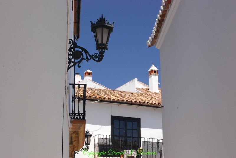 Alley scene, Ronda, Spain
