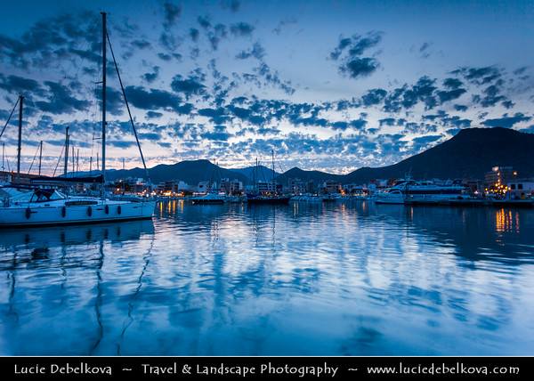 Europe - Spain - Balearic Islands archipelago - Majorca - Mallorca - Port de Pollença - Puerto Pollensa - Small fishing town in north-eastern Mallorca, situated on the Bay of Pollença