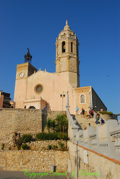 Church by the Sea, Sitges, Spain