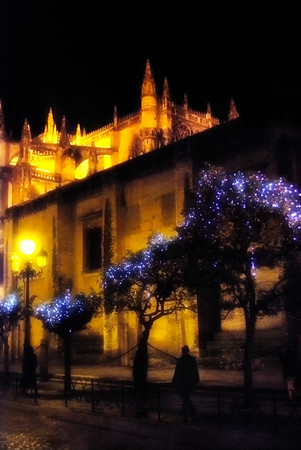 Christmas Eve, Cathedral of Seville - Seville, Spain