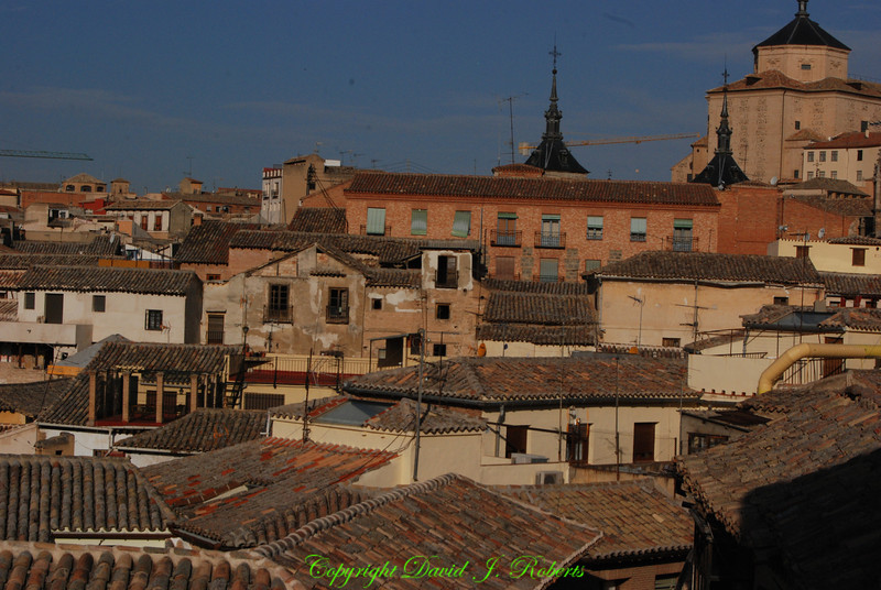 Skyline view of Toledo, Spain