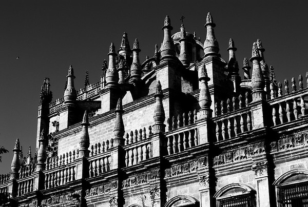 Cathedral of Seville with Buttresses #11a - Seville, Spain