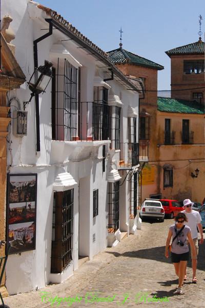 Small street, Ronda, Spain