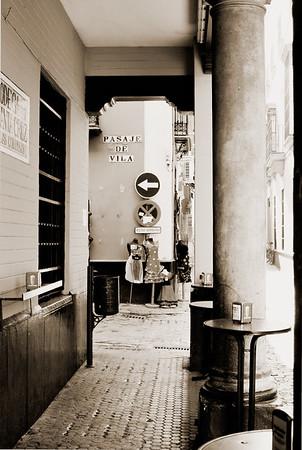 Street Scene #1s - Seville, Spain