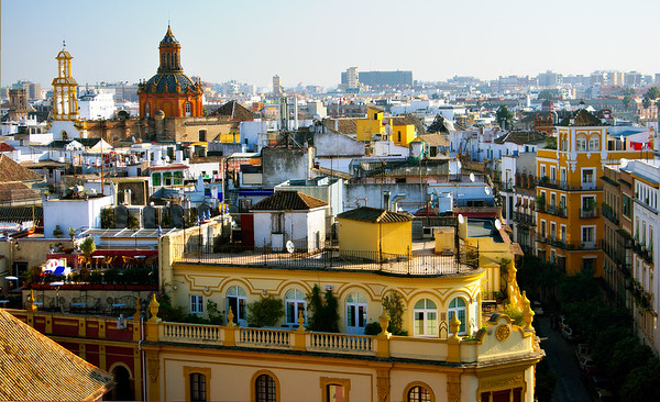 View of Rooftops #8 - Seville, Spain