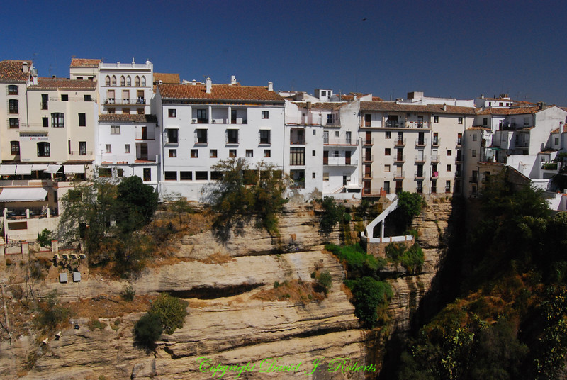 Cliff Houses, Ronda, Spain