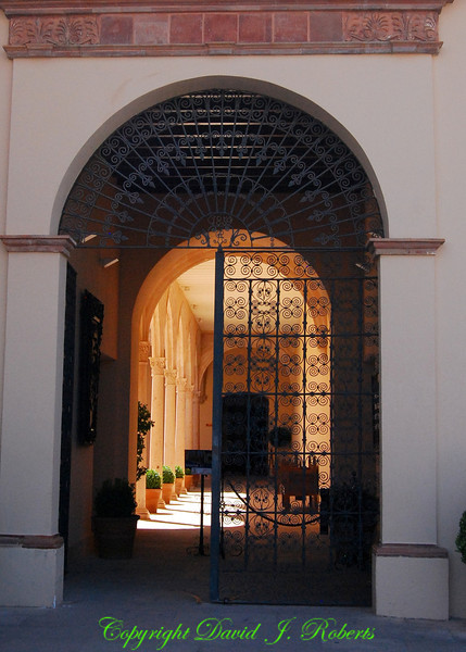 Entrance to Art Museum, Ronda, Spain