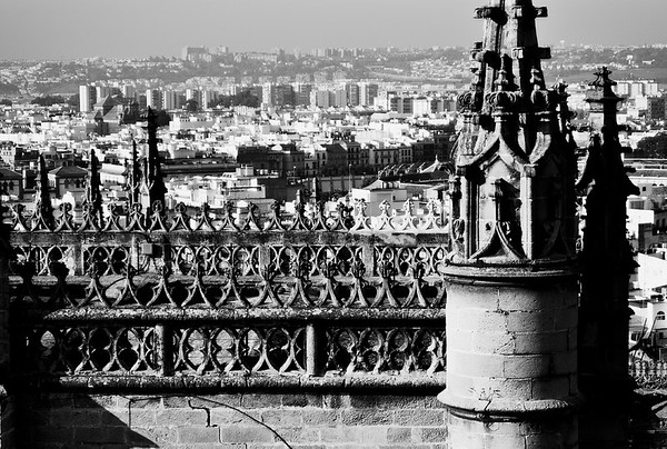 Cathedral of Seville with Buttresses #10a - Seville, Spain