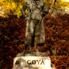 Statue of Goya - Madrid, Spain