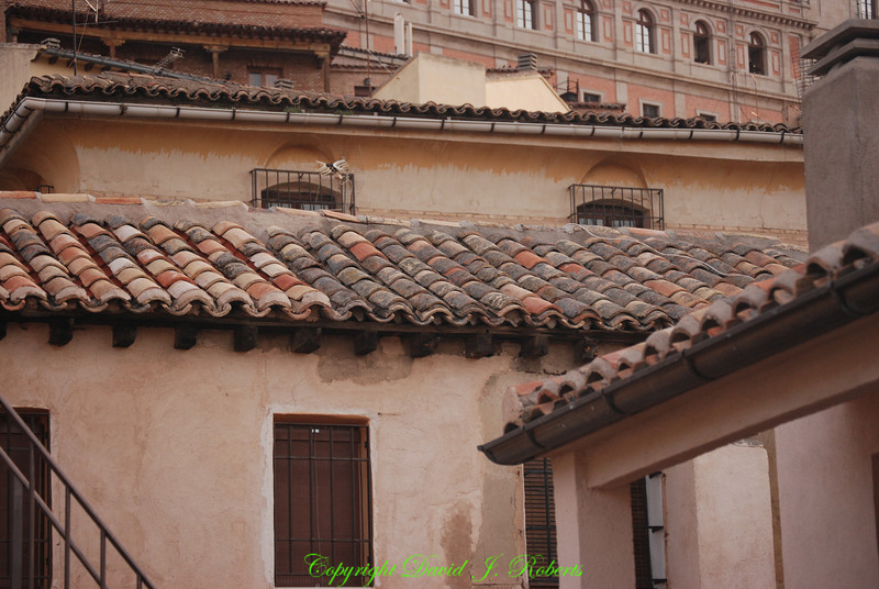 Old buildings and roof lines, Toledo, Spain