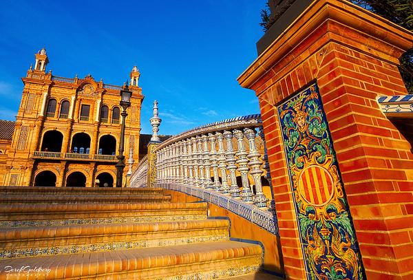 Walkway, Plaza de Espana #2 - Seville, Spain