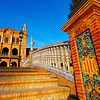 Walkway, Plaza de Espana #2 - Seville, Spain