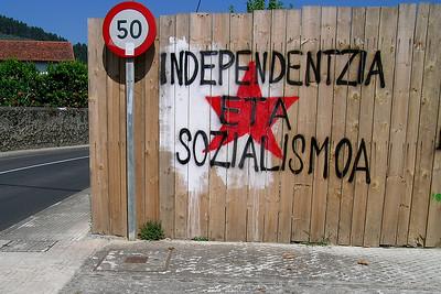 Ondárroa - ETA Graffiti