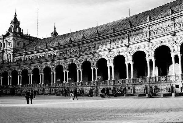 Plaza de Espana_View #31a - Seville, Spain