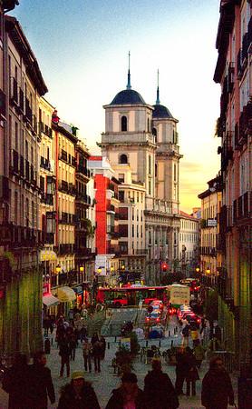 Madrid Street Scene #1 - Madrid, Spain
