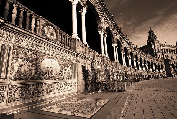Plaza de Espana View #16s - Seville, Spain