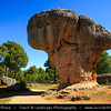 Europe - Spain - España - Castile-La Mancha - Cuenca Province - Ciudad Encantada - Enchanted City - Geological site which the erosive forces of weather and the waters of the nearby Júcar river have formed rocks into distinctive & memorable shapes