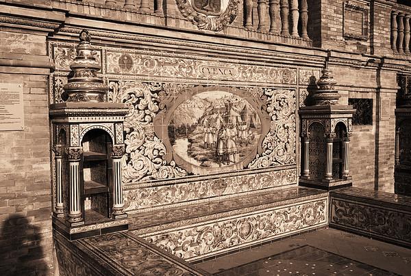 Tile Bench #1s, Plaza de Espana - Seville, Spain
