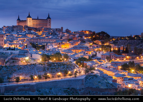 Europe - Spain - España - Toledo - UNESCO World Heritage Site - Imperial City - Historical Town Center with extensive cultural & monumental heritage and historical co-existence of Christian, Muslim & Jewish cultures