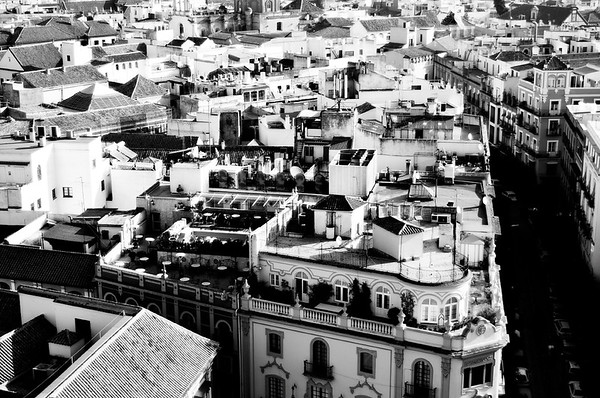 View of Rooftops #16a - Seville, Spain